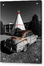 Holbrook Az - Wigwam Motel 007 Acrylic Print by Lance Vaughn