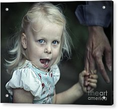 Acrylic Print featuring the photograph Hold On  by Michel Verhoef