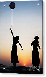 Holding The Dream Acrylic Print by Tim Gainey