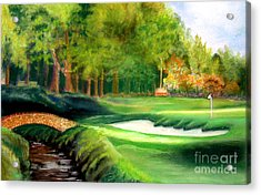 Hole Number10 Acrylic Print