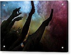 Holi  Festival Of Colours Acrylic Print