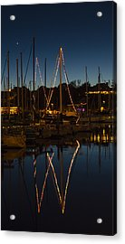 Holiday Boats Acrylic Print