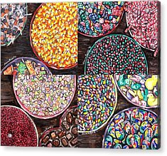 Holiday Candy Acrylic Print