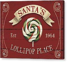 Holiday Candy Shops Iv Acrylic Print by Wellington Studio