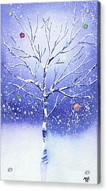 Holiday Card 8 Acrylic Print by Nelson Ruger