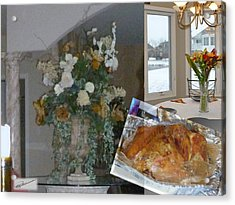 Holiday Collage Acrylic Print