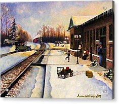 Holiday Depot 1932 Acrylic Print by Susan Williams