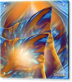 Acrylic Print featuring the digital art Holiday Dream - Fantasy Art By Giada Rossi by Giada Rossi