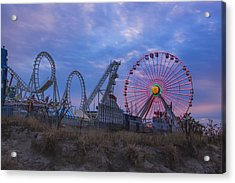 Holiday Ferris Wheel Acrylic Print