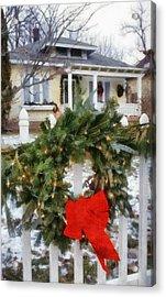 Holiday In The Neighborhood Acrylic Print