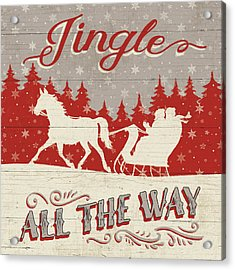 Holiday In The Woods I Acrylic Print by Janelle Penner