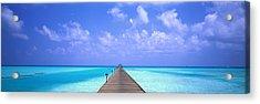 Holiday Island Maldives Acrylic Print