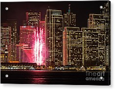 Holiday Lights Acrylic Print by Kate Brown