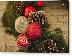 Holiday Music Acrylic Print