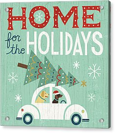 Holiday On Wheels I Acrylic Print