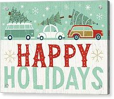 Holiday On Wheels Ix Acrylic Print by Michael Mullan