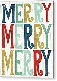 Holiday On Wheels Xi Acrylic Print