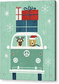 Holiday On Wheels Xii Acrylic Print