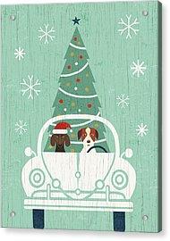 Holiday On Wheels Xiii Acrylic Print