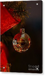 Acrylic Print featuring the photograph Holiday Season by Linda Shafer