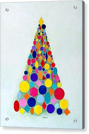 Holiday Tree #1 Acrylic Print