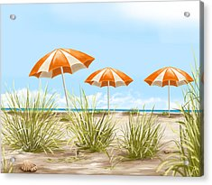 Holiday Acrylic Print by Veronica Minozzi