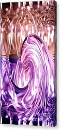 Holiday Wine Acrylic Print by PainterArtist FIN