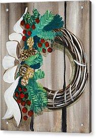 Holiday Wreath 2 Acrylic Print