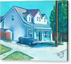 Hollister Home Acrylic Print