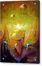 Hollow Earth Agharta Acrylic Print
