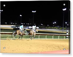 Hollywood Casino At Charles Town Races - 121219 Acrylic Print by DC Photographer