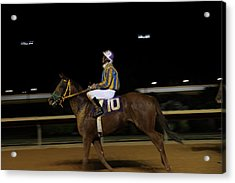 Hollywood Casino At Charles Town Races - 121232 Acrylic Print by DC Photographer