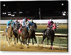 Hollywood Casino At Charles Town Races - 121240 Acrylic Print by DC Photographer