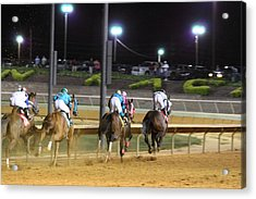 Hollywood Casino At Charles Town Races - 121251 Acrylic Print by DC Photographer