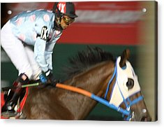 Hollywood Casino At Charles Town Races - 121265 Acrylic Print by DC Photographer