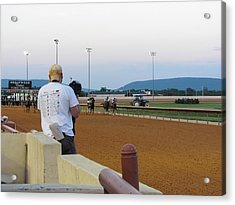 Hollywood Casino At Charles Town Races - 12128 Acrylic Print by DC Photographer