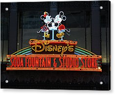 Hollywood Disney Acrylic Print