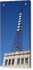 Hollywood Pacific Theatre Tower Acrylic Print by Gregory Dyer