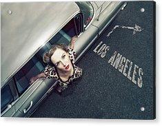 Hollywood Road Acrylic Print