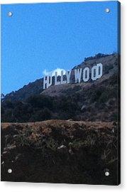 Hollywood Acrylic Print by Selia Hansen