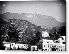 Hollywood Sign Acrylic Print by John Rizzuto