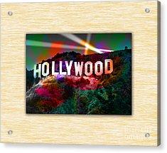Hollywood Sign Acrylic Print by Marvin Blaine