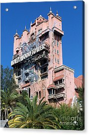 Hollywood Tower Hotel Acrylic Print