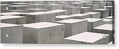 Holocaust Memorial, Monument Acrylic Print by Panoramic Images