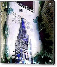 Holographic Parlement Acrylic Print by Danielle  Parent