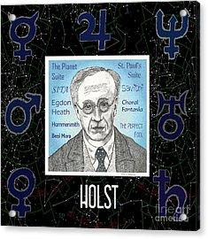 Holst Acrylic Print by Paul Helm