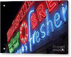 Holsum Las Vegas 3 Acrylic Print by Kip Krause