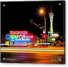 Holsum Las Vegas II Acrylic Print by Kip Krause