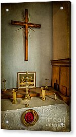 Holy Chalice Acrylic Print by Adrian Evans