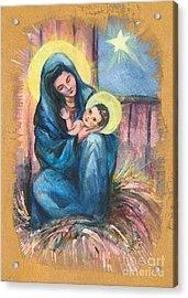 Holy Christmas No. 1  Acrylic Print by Elisabeta Hermann